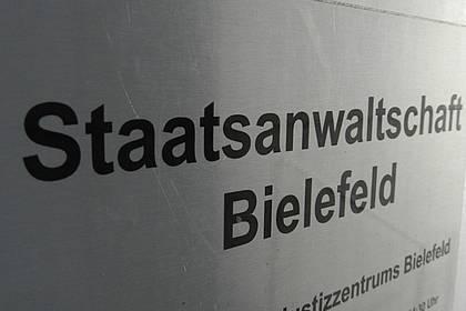 Schild Staatsanwaltschaft Bielefeld