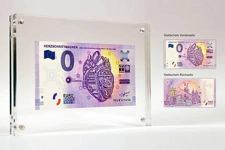 0-Euro-Schein der Aktion Lichtblicke 2019