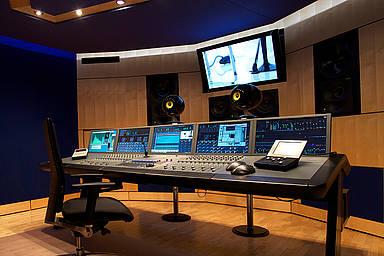 ams-Tonstudios in Bielefeld