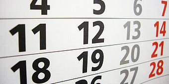 Jahreskalender 2018