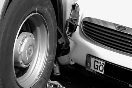 Kollision zweier Autos