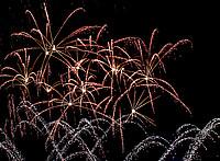 Feuerwerk bei den Parklichtern 2018