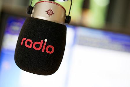 Mikrofon von Radio Herford