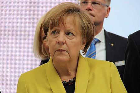 Merkel in Herford