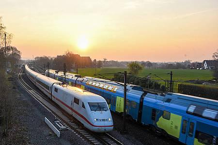 Bild Bahntrasse