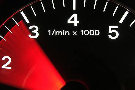 Tacho Geschwindigkeit
