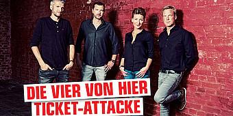 Pola, Oliver, Nadine und Boris verlosen Tickets für die Toten Hosen