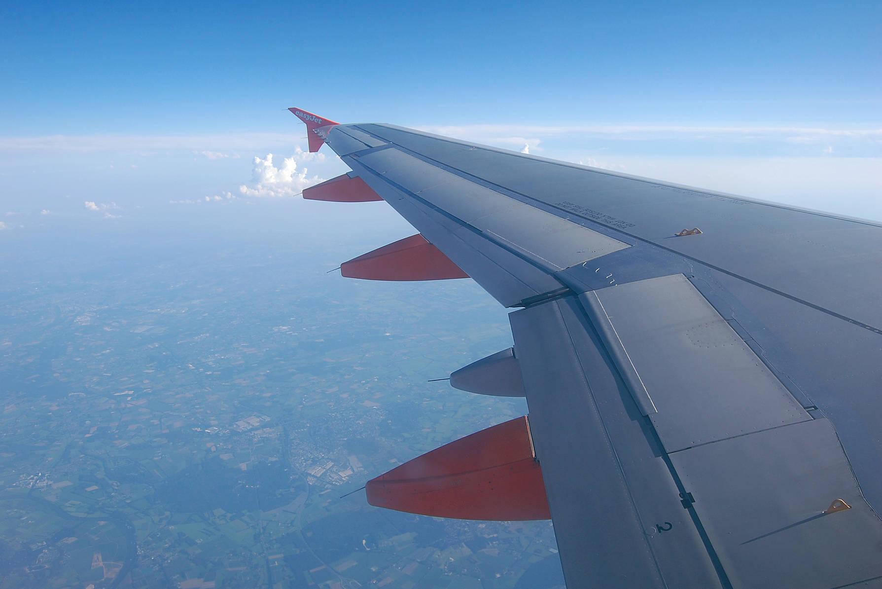 Flugzeugflügel