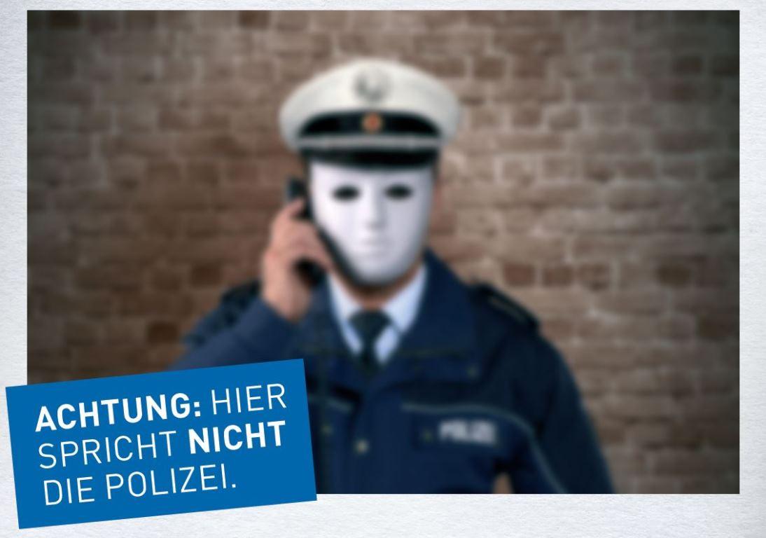 Falscher Polizist am Telefon