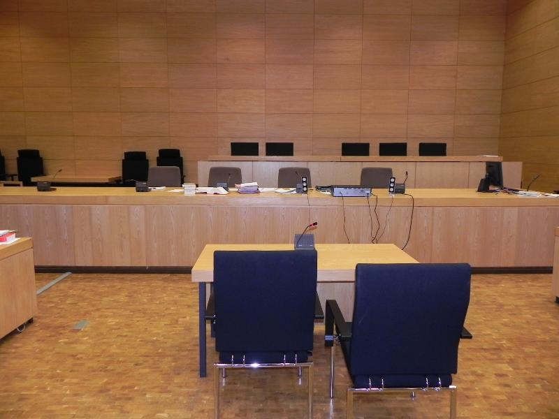 Saal Landgericht Bielefeld