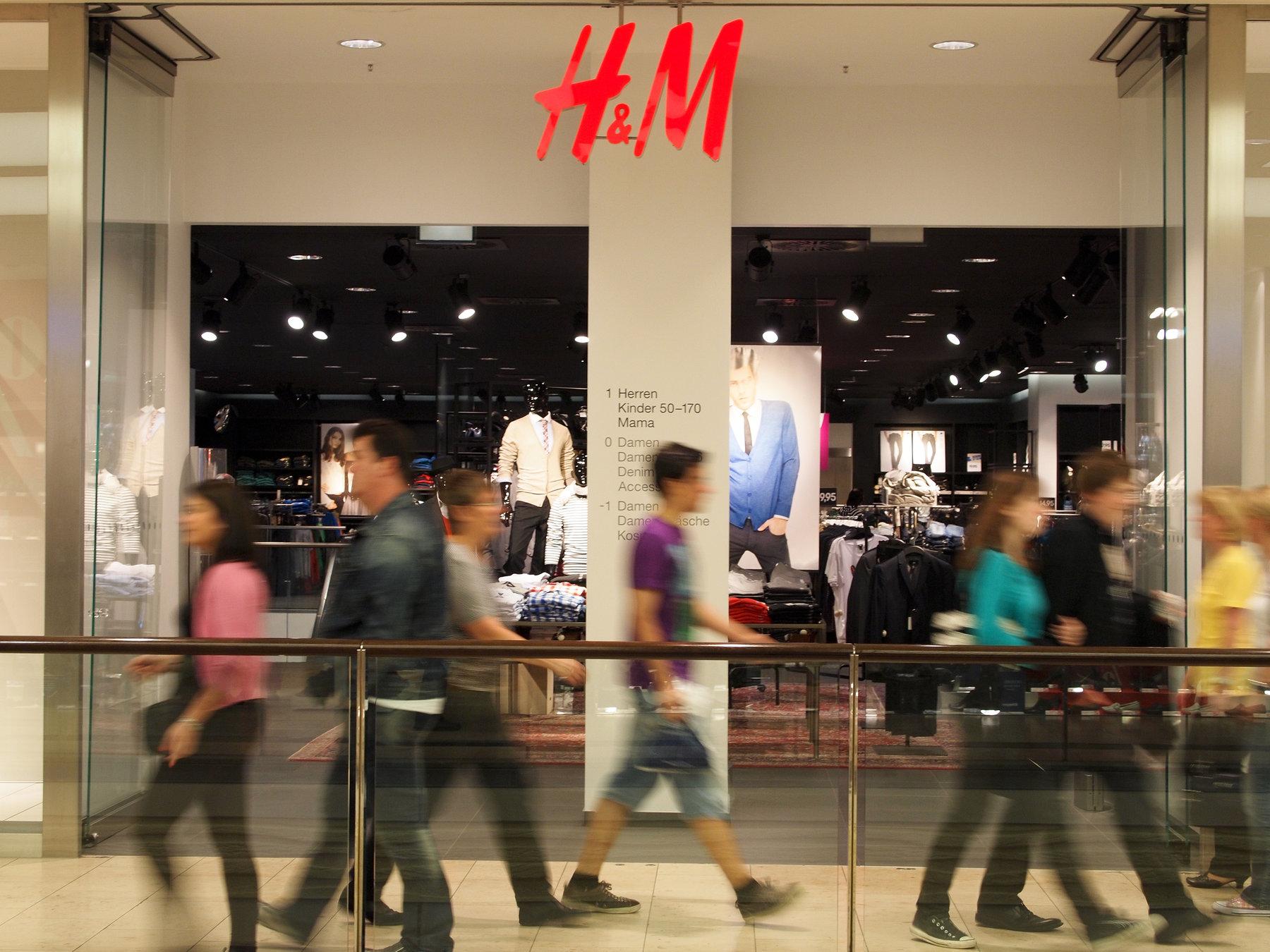 Eingang H&M