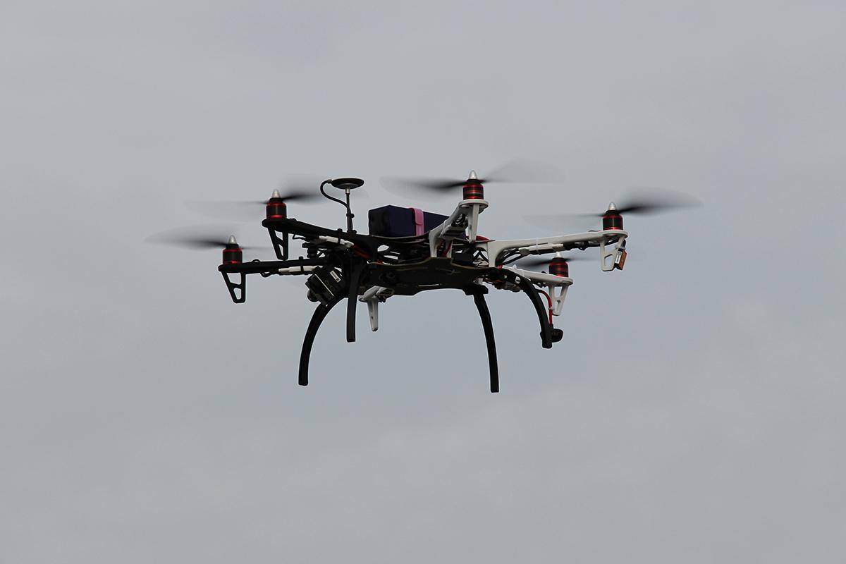 Bild einer Drohne